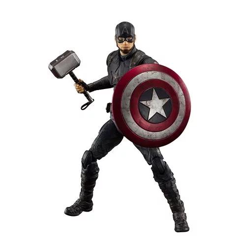 Avengers Endgame Captain America Final Battle Edition S H Figuarts Action Figure In 2021 Captain America Avengers Loki Avengers