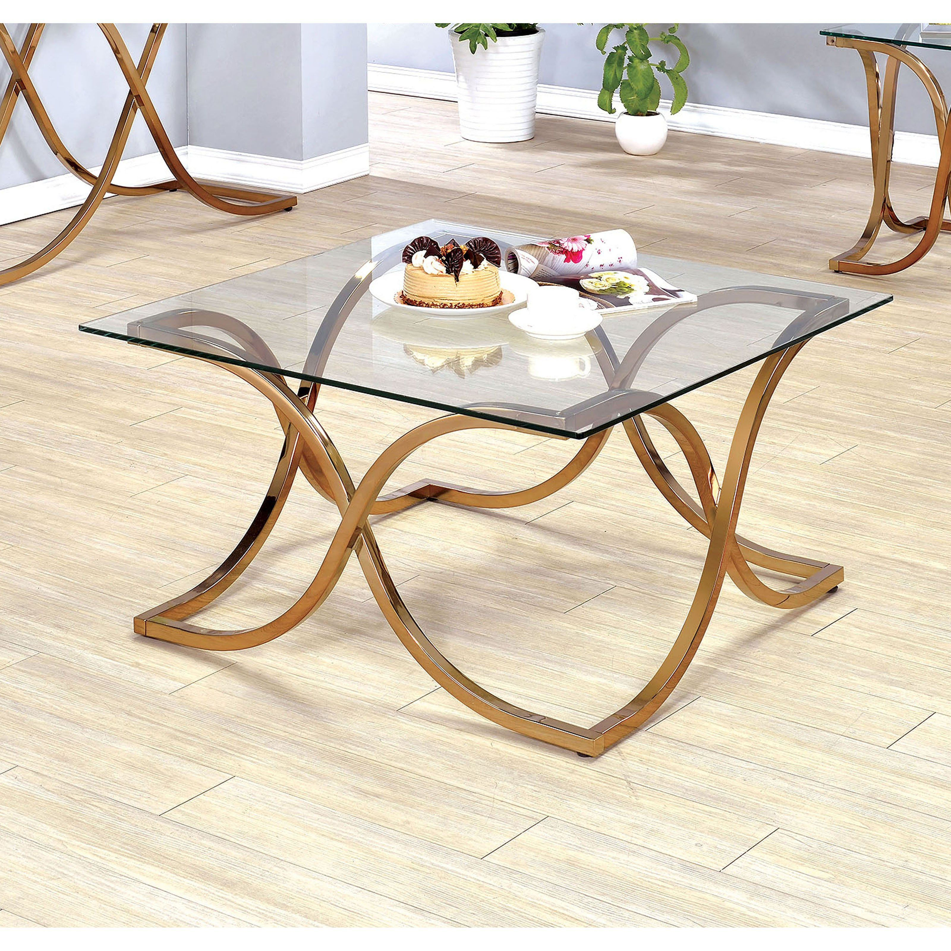 Best Furniture Of America Karis Curved Leg Base Coffee Table 640 x 480