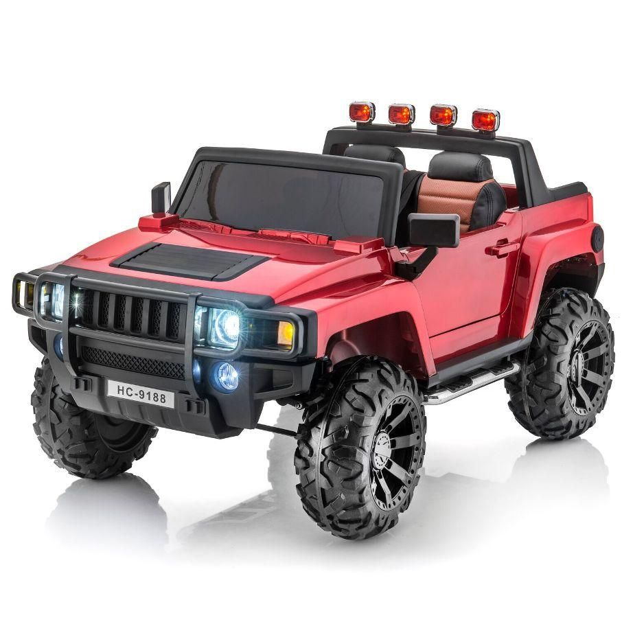 Hummer Style 14V 14 Seat Remote RC Ride On Pick-Up Truck w ...   12v hummer