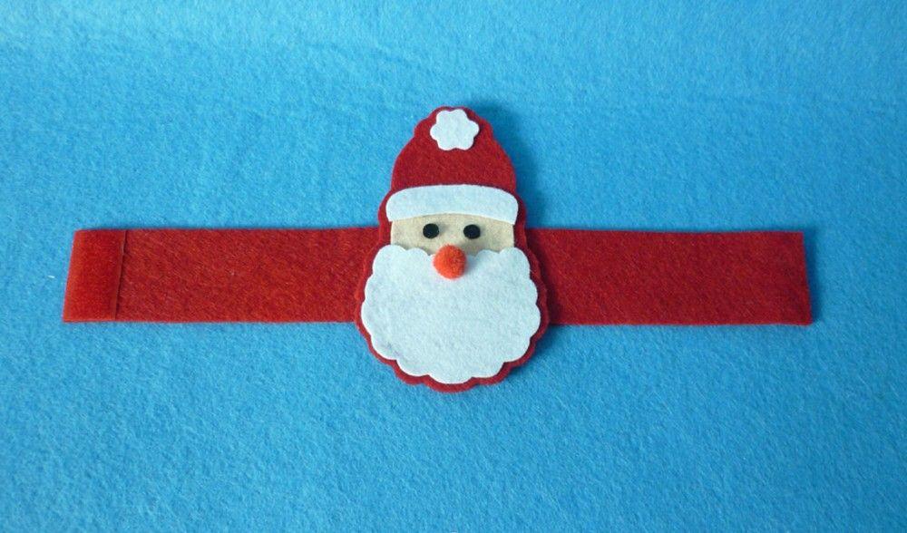 Aliexpress.com: Compre 4 pçs/lote de Santa Do Natal Anel de Guardanapo Decoração…