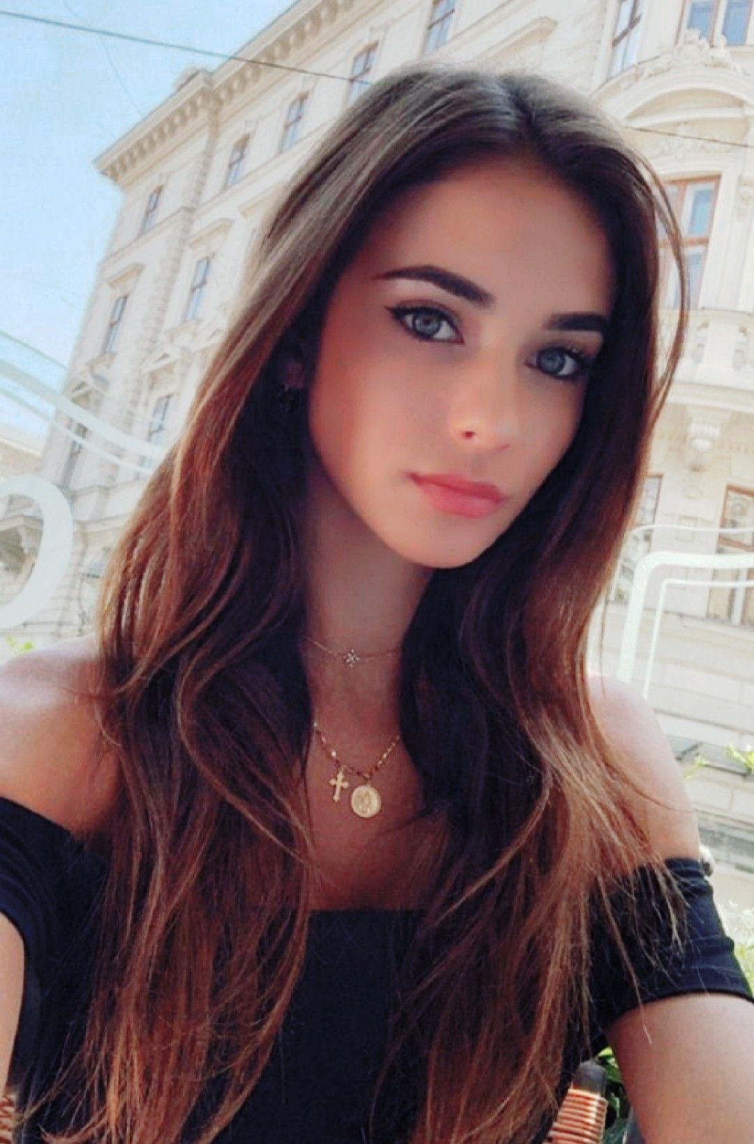 Brunette girl photo Very Very Beautiful Brunette Girl Brunette Beauty Beautiful Eyes Beauty Girl
