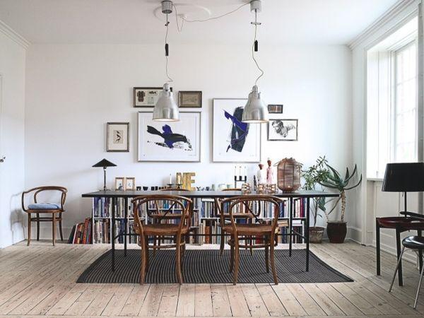 Décorer Son Intérieur Un Salon Une Cuisine Une Chambre Une - Idee deco murale salle a manger pour idees de deco de cuisine