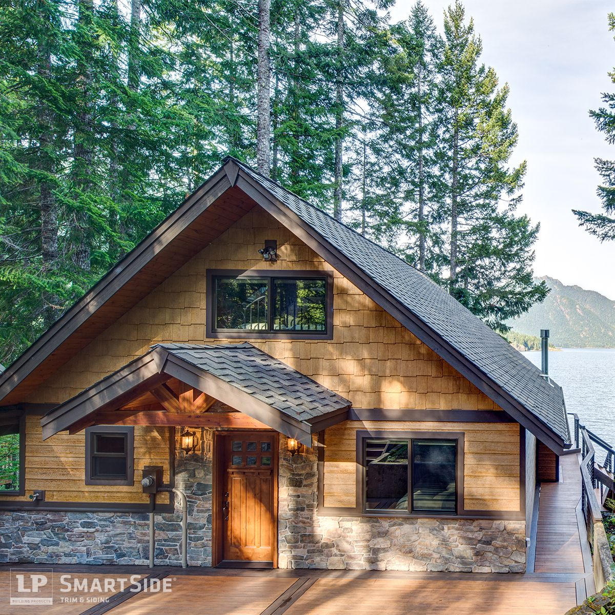 Lp Smartside Cedar Shakes Can Help You Create A Variety Of