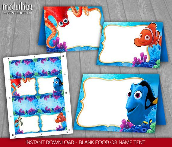 Finding Dory Food Tents