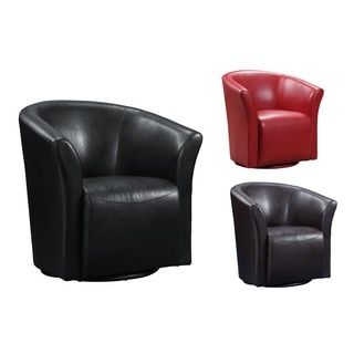 Shop For Picket House Ranby Faux Leather Wraparound Swivel Chair Enchanting Leather Swivel Dining Room Chairs Design Decoration