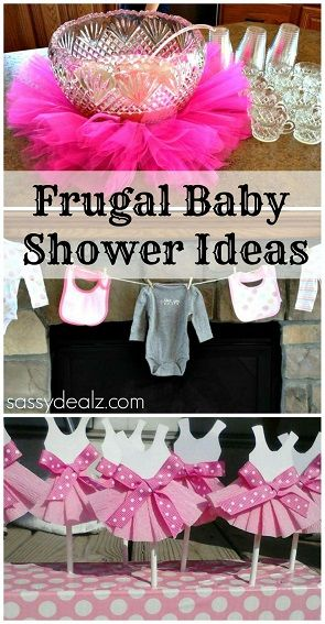 Baby Shower In Budget ~ Baby girl shower ideas on a budget