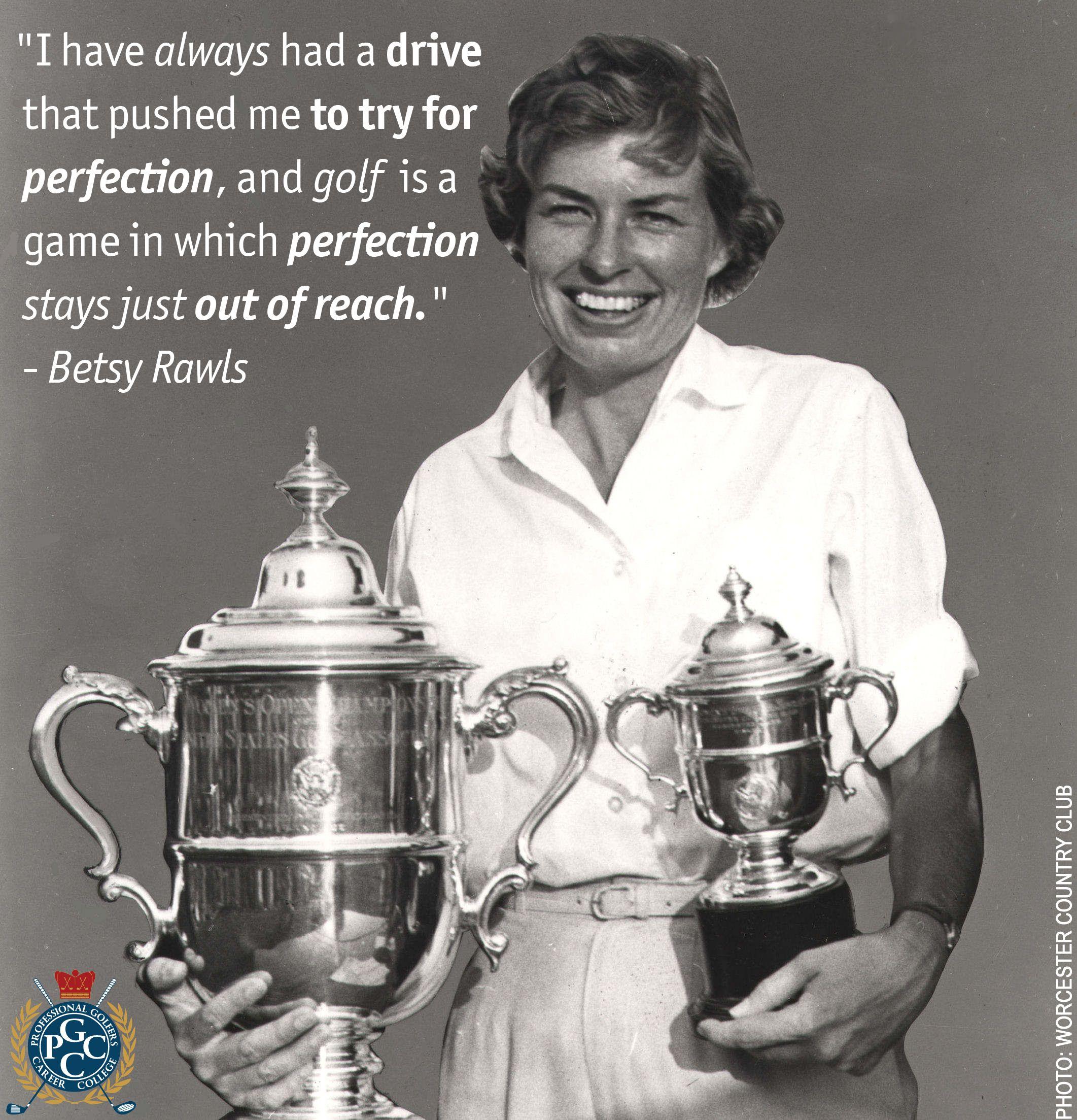 Betsy Rawls 8 LPGA majors