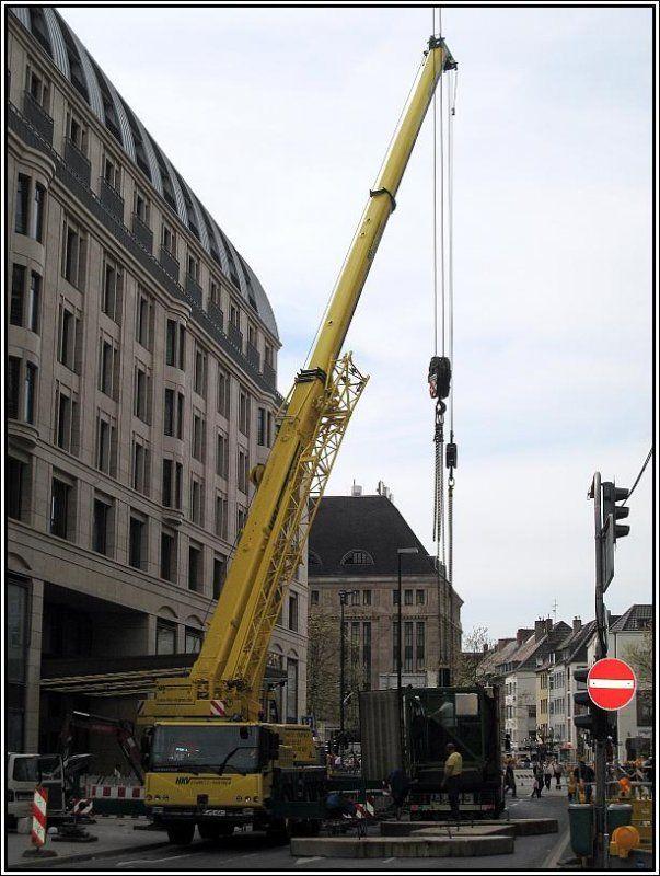 Am 27.04.2008 wurde in der Innenstadt von Düsseldorf ein