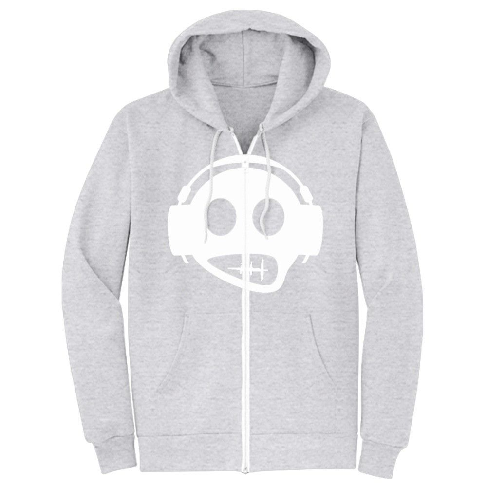 Zip Up Headphones Headphone Zip Up Hoodie Headphones Hoodie And Products