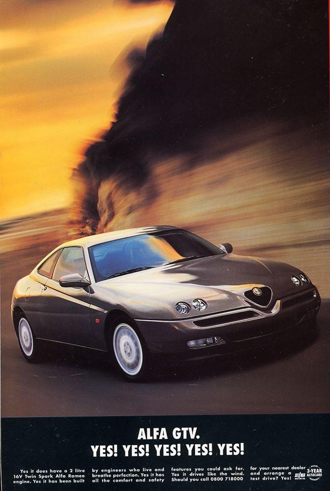 Alfa Romeo GT Veloce   Alfa Romeo Car Ads   Pinterest   Alfa romeo