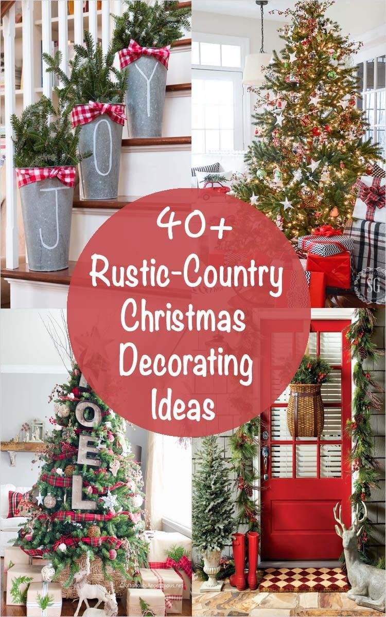 Amazing Country Decorating Ideas For Unique Home 967: 41 Amazing Country Christmas Decorating Ideas