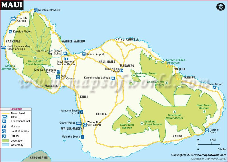Maui Map USA Maps Pinterest City Maps Hawaii And Highway Road - Road map of hawaii