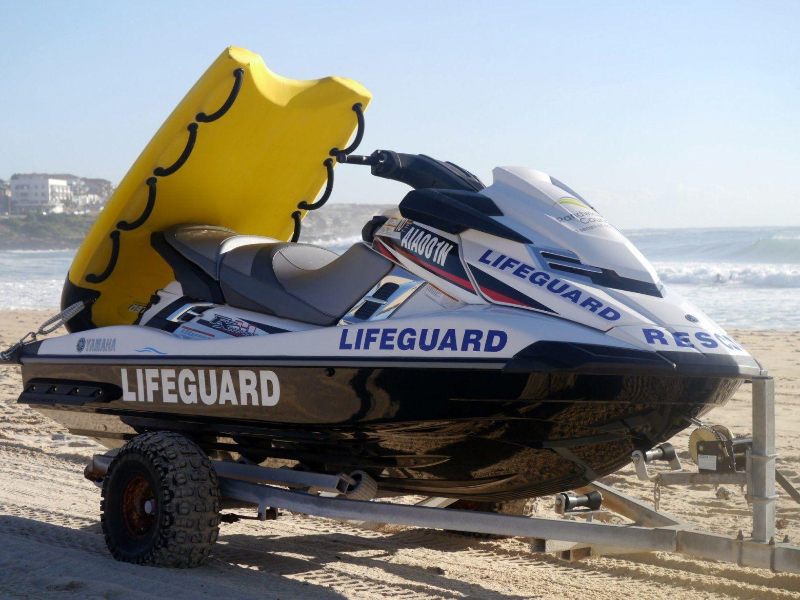 Lifeguard Rescue, Jet ski, Surfing, Ocean, Waves, Big