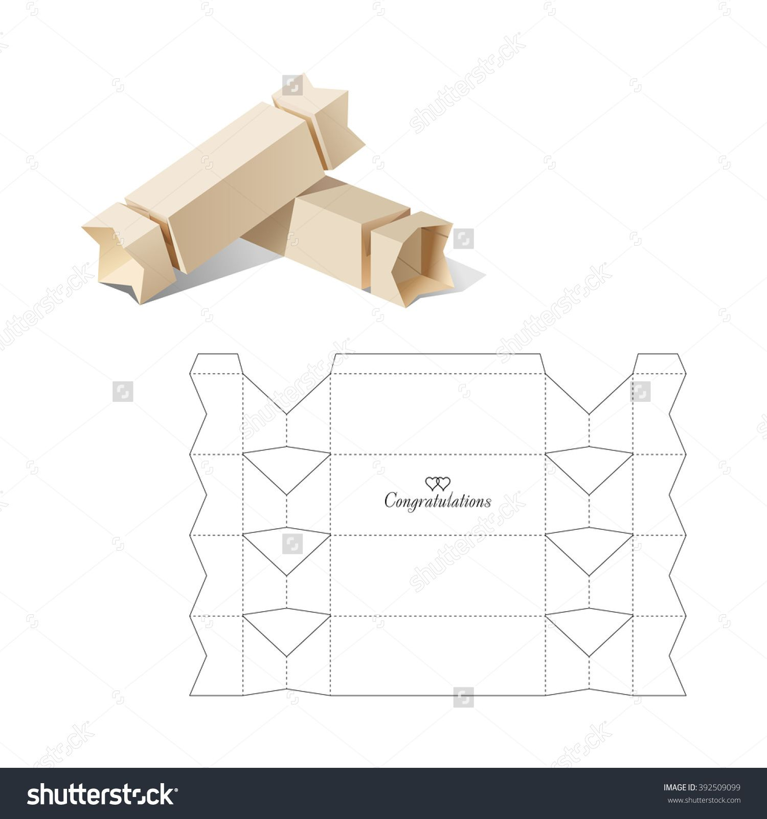 Stock vector candy box with blueprint template 392509099g 1500 candy box with blueprint template buy this stock vector on shutterstock find other images malvernweather Images