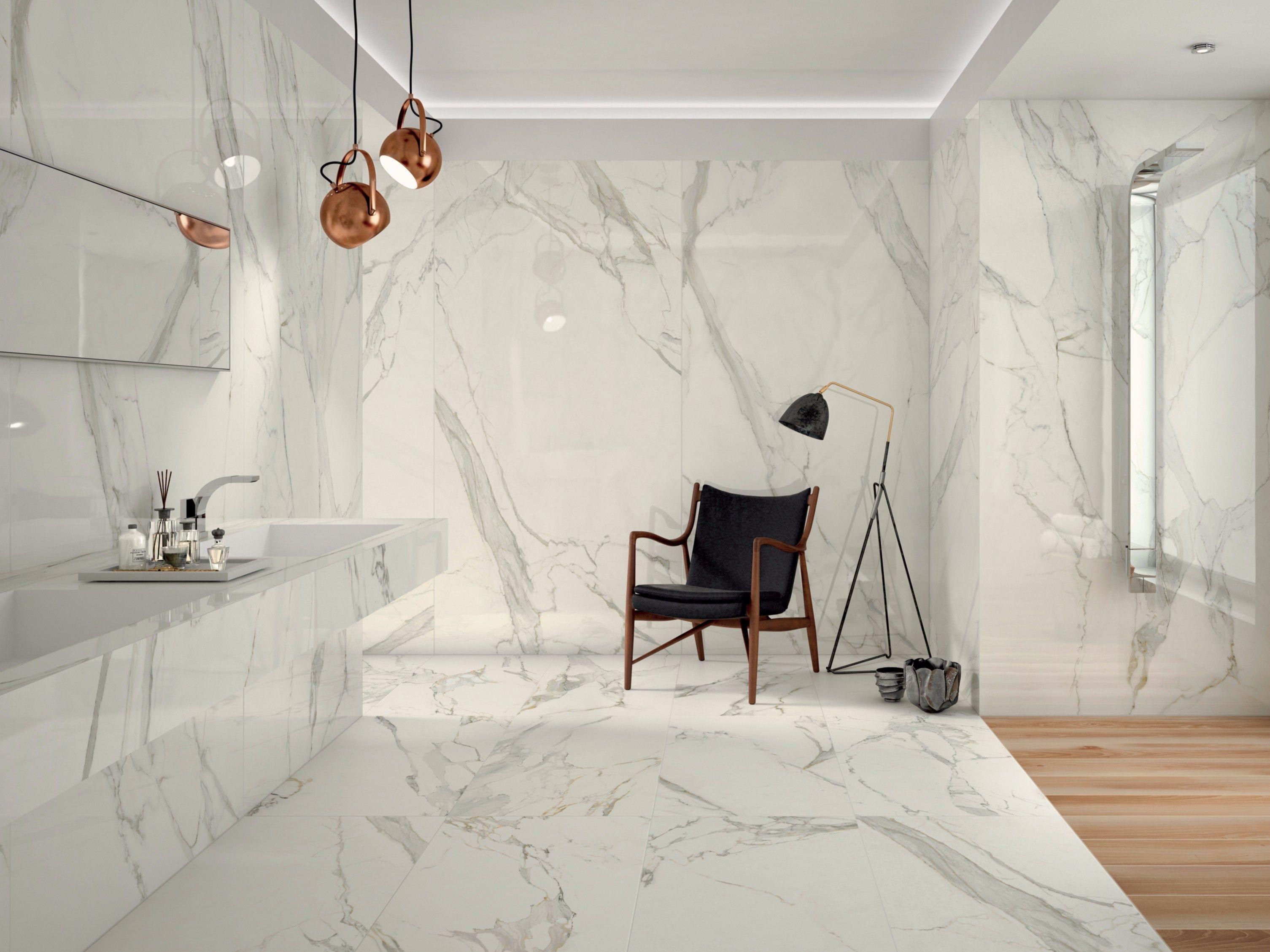 Pavimento rivestimento in gres porcellanato effetto marmo project