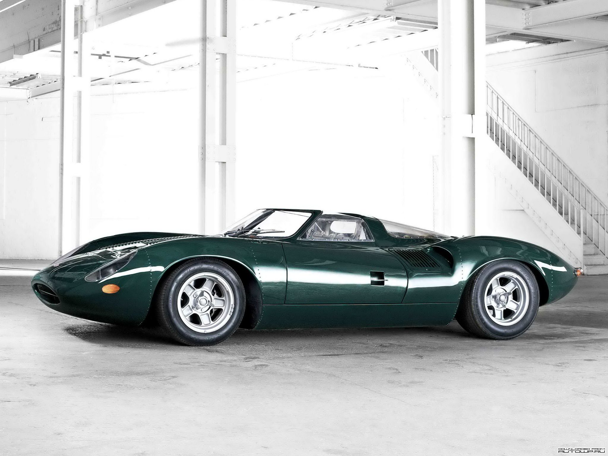 Jaguar Xj13 V12 Prototype Sports Racer 1966 Jaguar Xj13