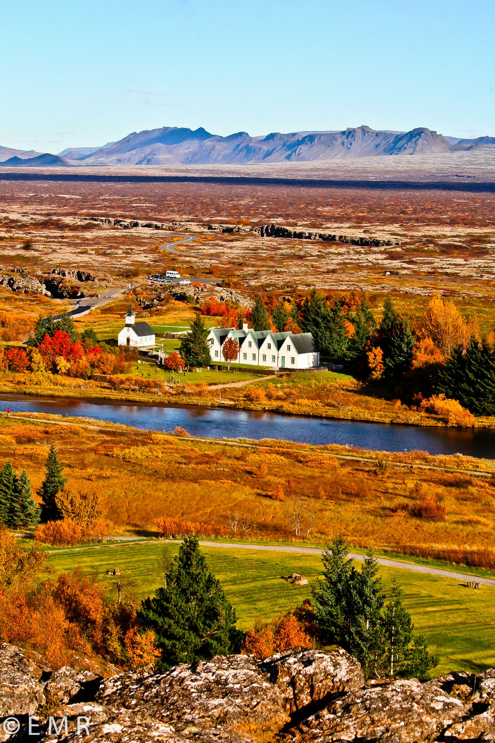 Thingvellir in autumn, Iceland