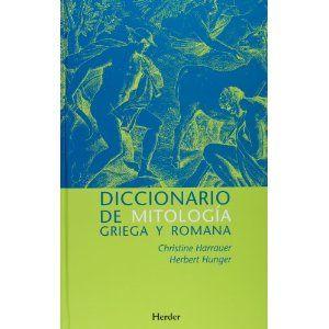 Diccionario de mitología griega y romana : con referencias