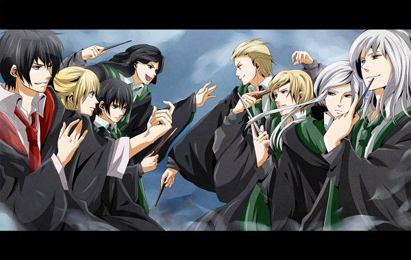 Harry Potter Series : Abraxas Malfoy -Bellatrix Lestrange