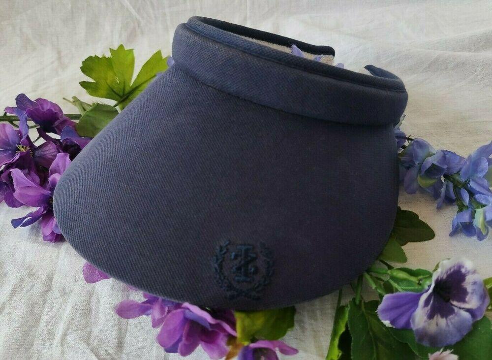d611443f Womens Izod Golf Tennis Wide Brim Sun Visor Hat Navy Blue #fashion  #clothing #