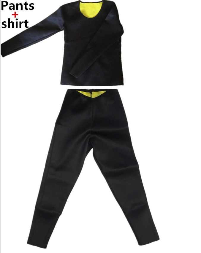 Pants Shapers Neoprene Tight Hot ShirtWomen Long long Sleeve ImY6gf7yvb