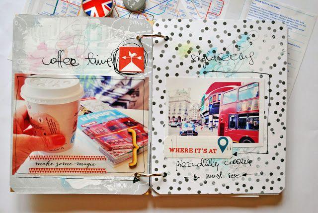 Olennka London Trip Minialbum Paper Love Pinterest Pencil
