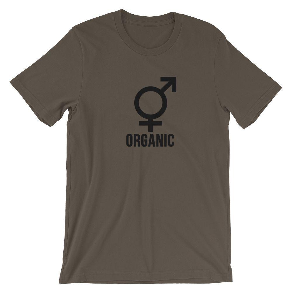 ORGANIC Intersexual Unisex short sleeve t-shirt