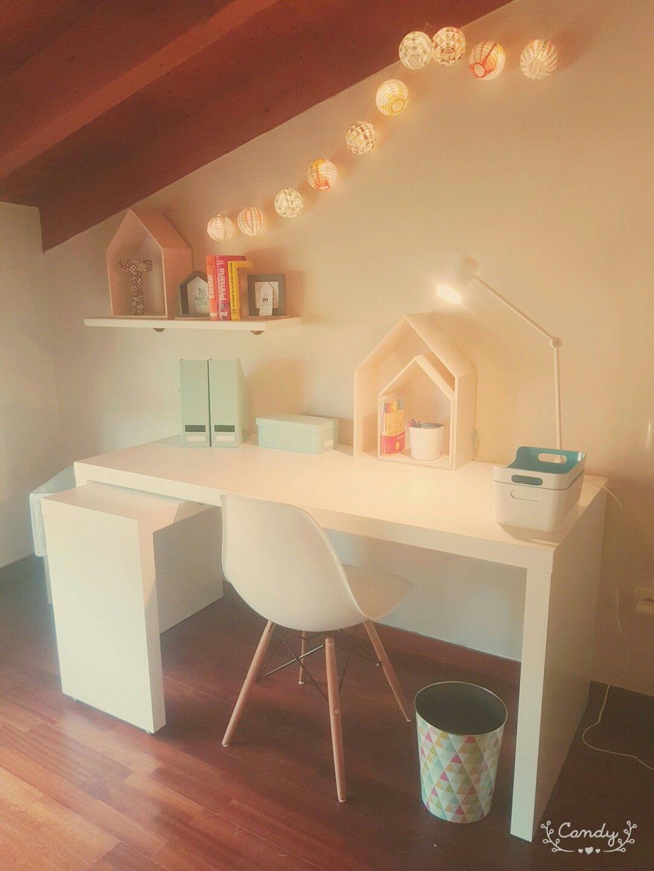 Mesa de escritorio lista!!! ❤