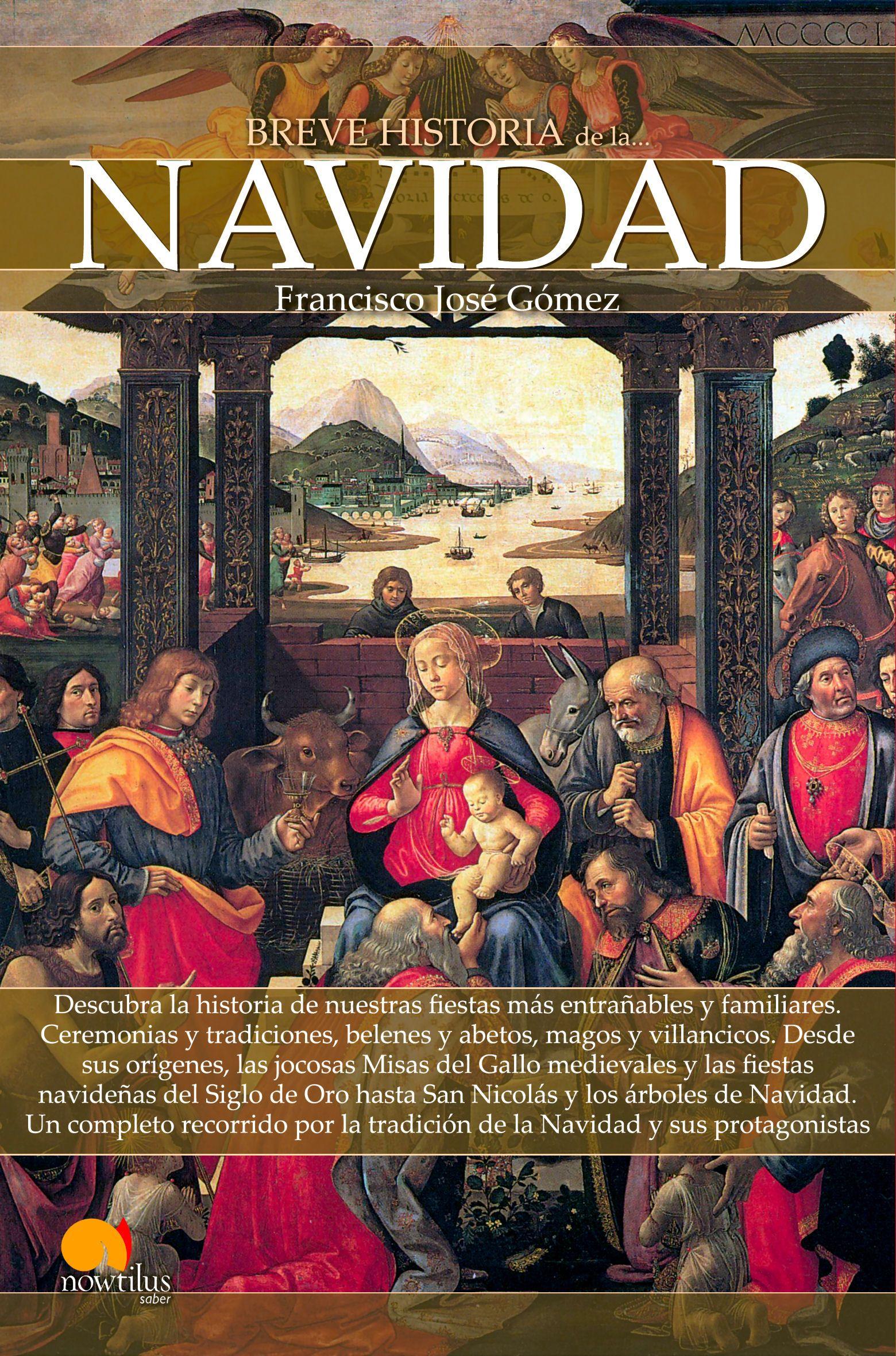 Portada Breve historia de la Navidad