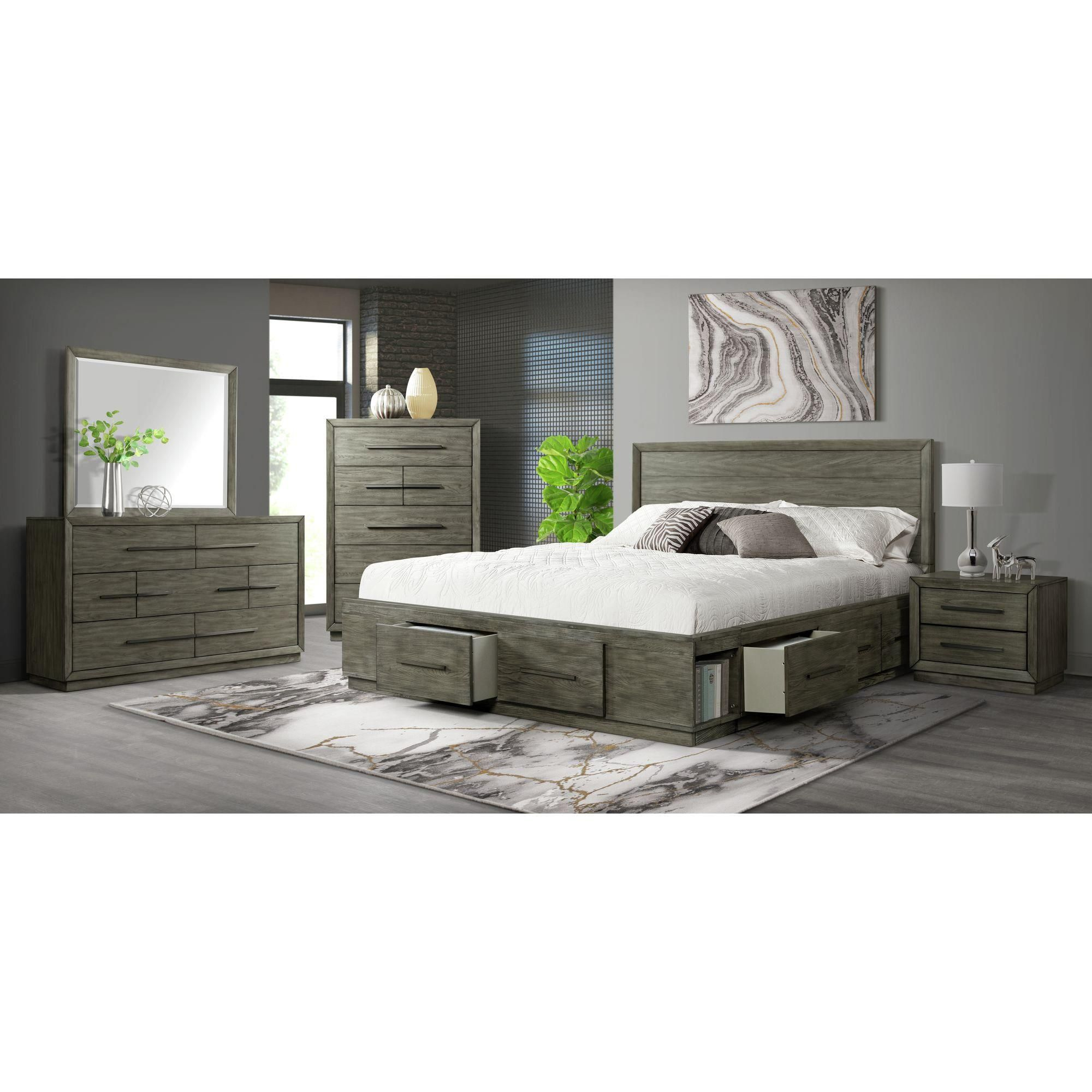 Mayberry Hill Elation Nightstand With Usb Port In Chic Grey Nfm In 2021 Bedroom Set Quality Bedroom Furniture Nebraska Furniture Mart [ 2000 x 2000 Pixel ]