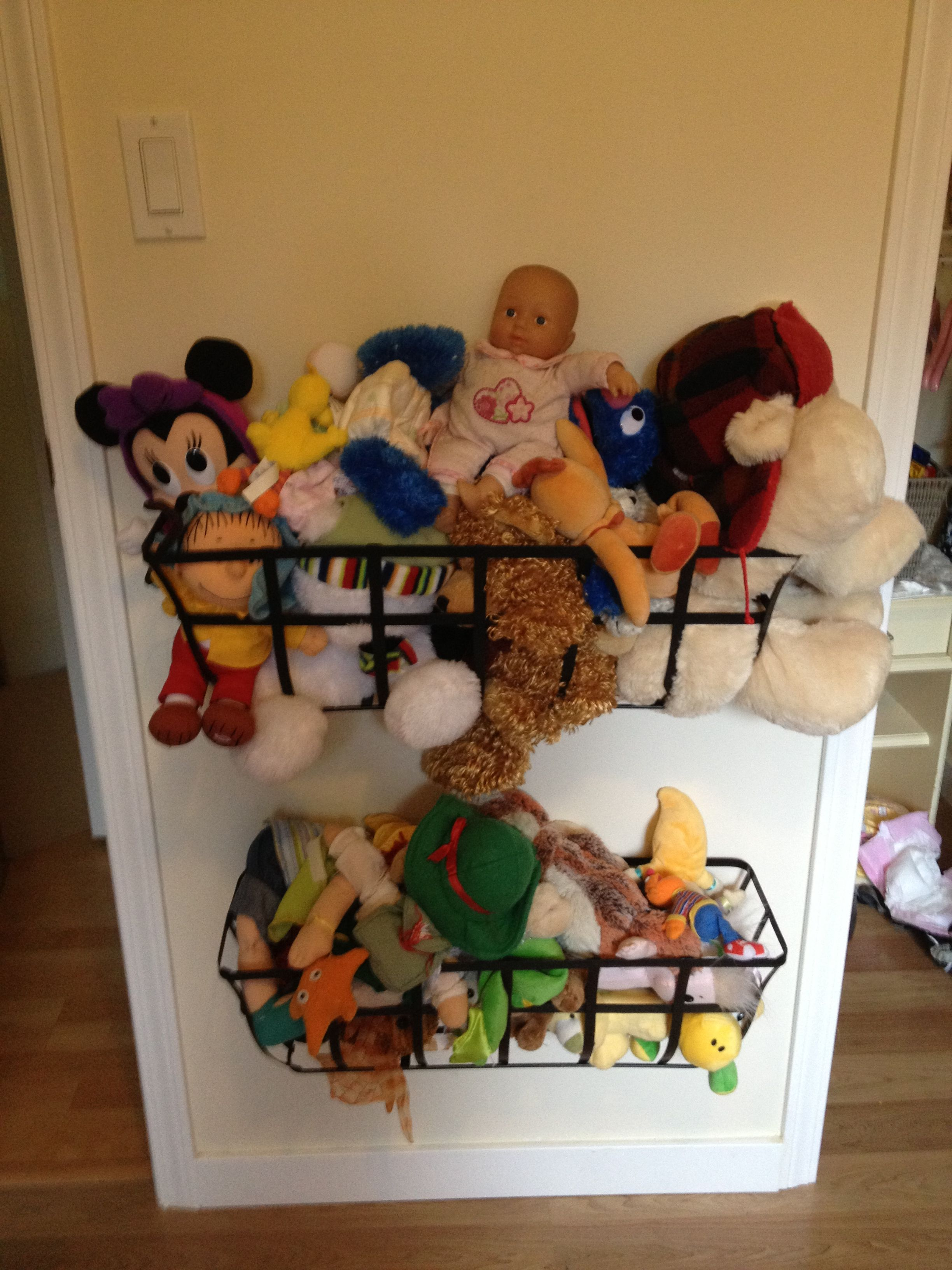 Blue Storage Kids Toy Box Playroom Furniture Bedroom Girls: Metal Planter Boxes For Stuffed Animal Storage, Emma's