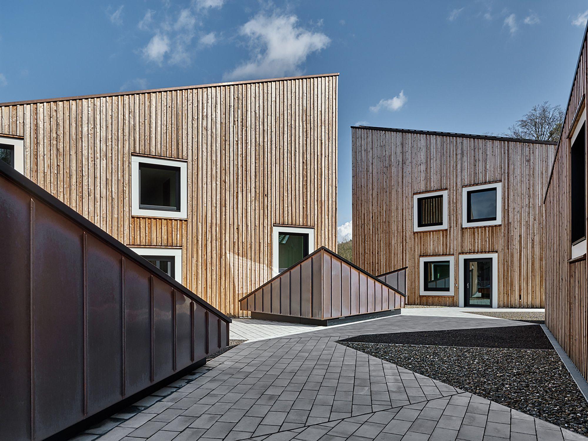 Dorf innenarchitektur gallery of fraunhofer research campus waischenfeld  barkow