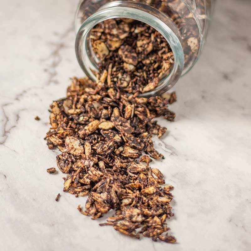 Keto Chocolate Almond Granola