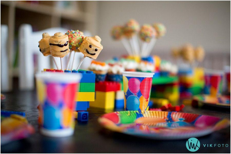 Lego popcakes / cakepops