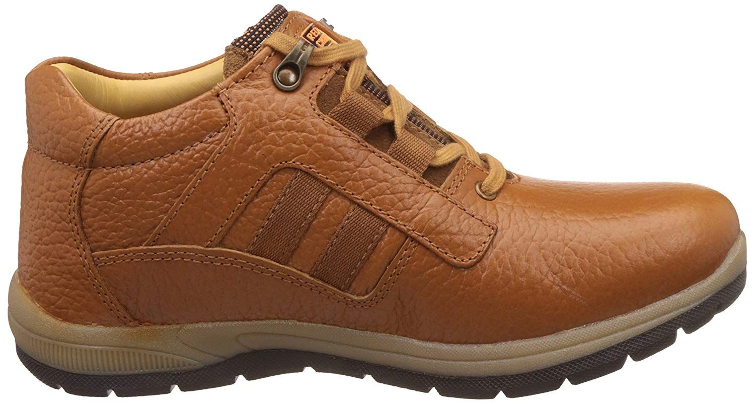 Leather boat shoes, Leather men