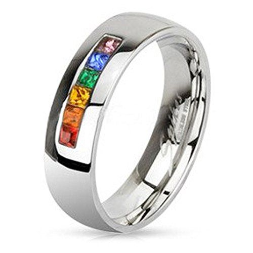 Inexpensive Pride Wedding Rings Or Engagement For S