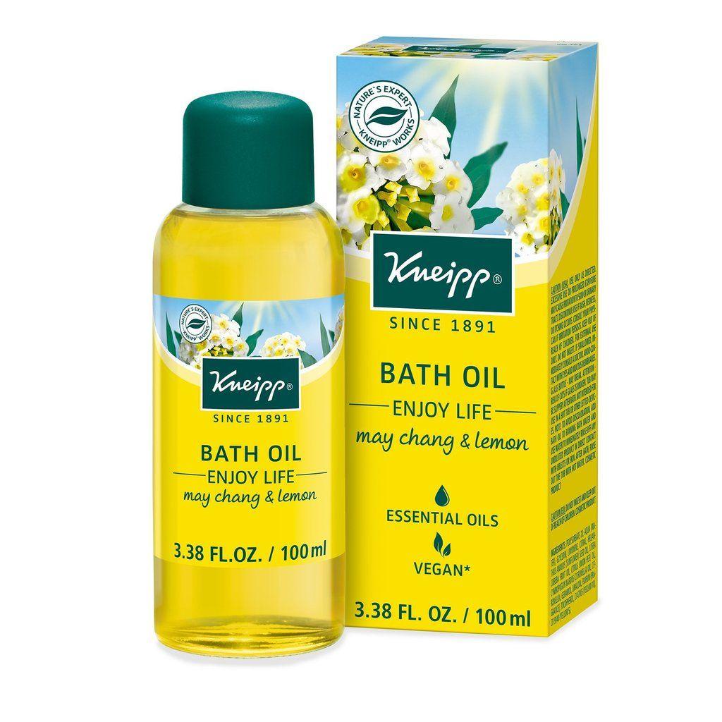 Kneipp Enjoy Life Bath Oil Dermatologistrx Lemon Bath Herbal Bath Bath Oils