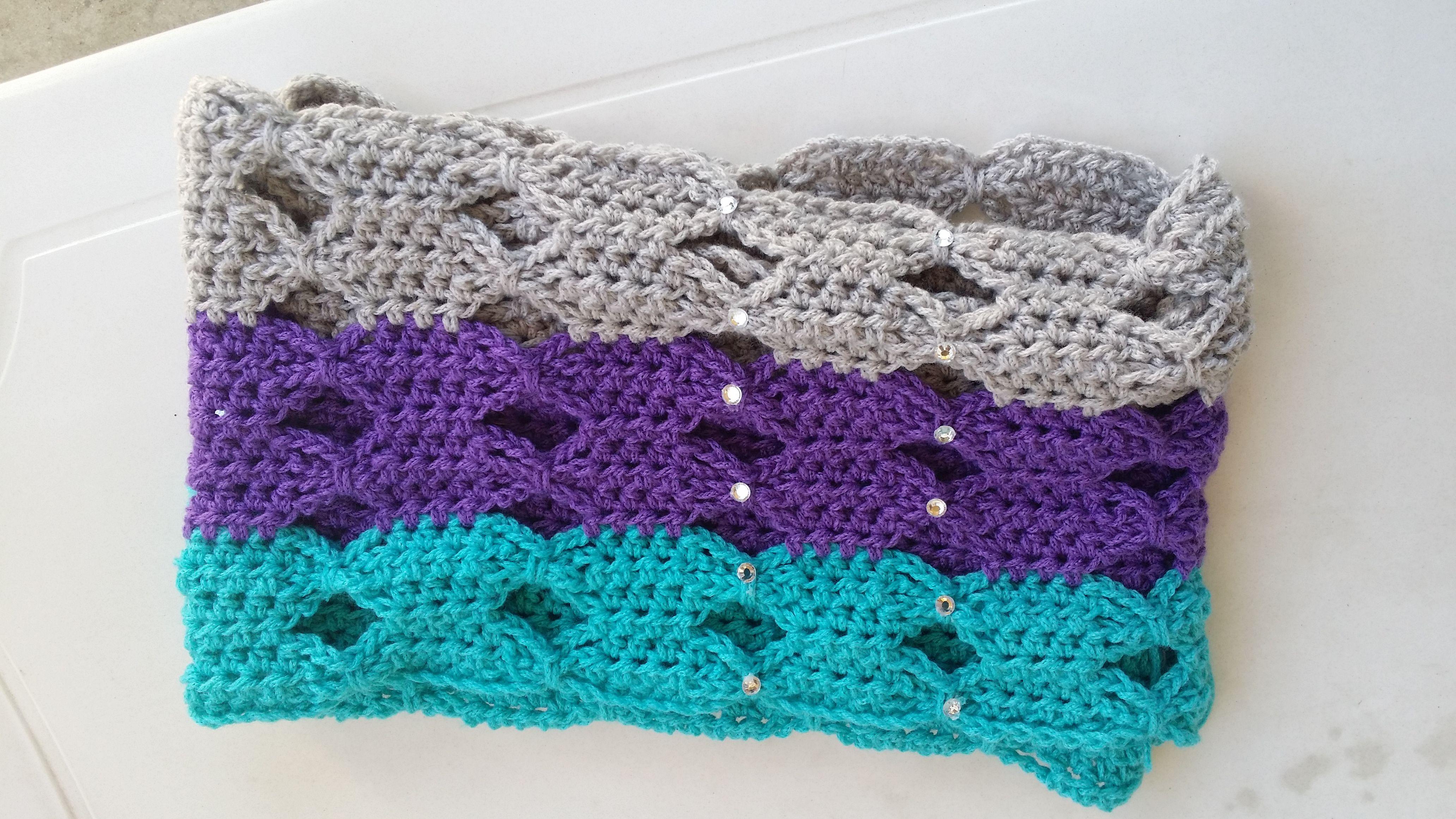 crochet cowl | Crochet bufandas y cuellos | Pinterest | Crochet bufanda