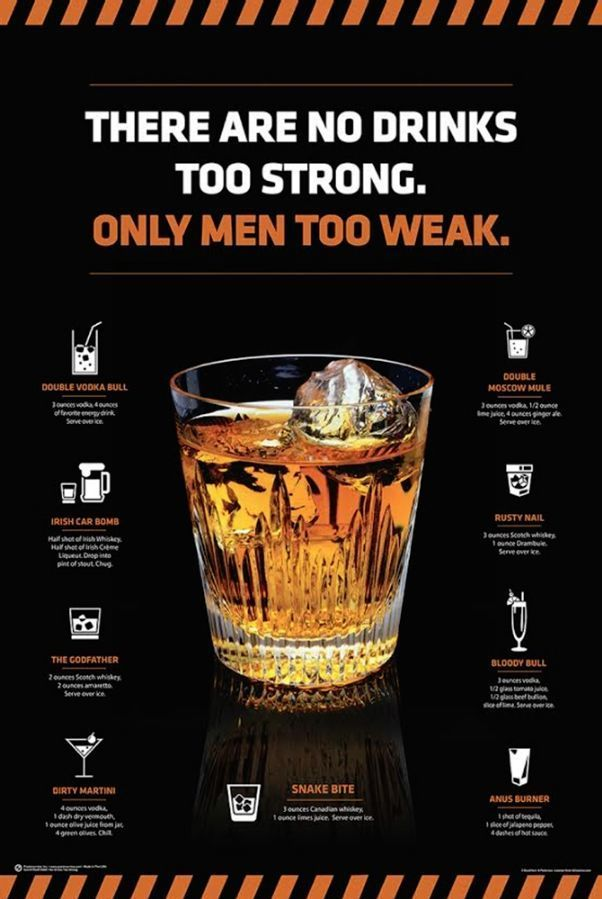 No Drinks Too Strong Poster is part of Whisky drinks - No Drinks Too Strong Poster
