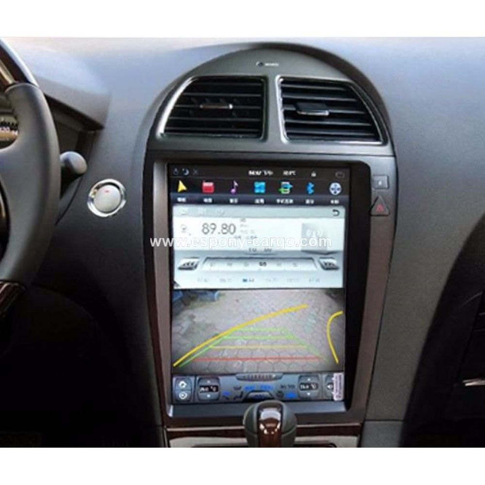 "12.1"" TESLA-STYLE NAVIGATION ANDROID RADIO FOR LEXUS ES"