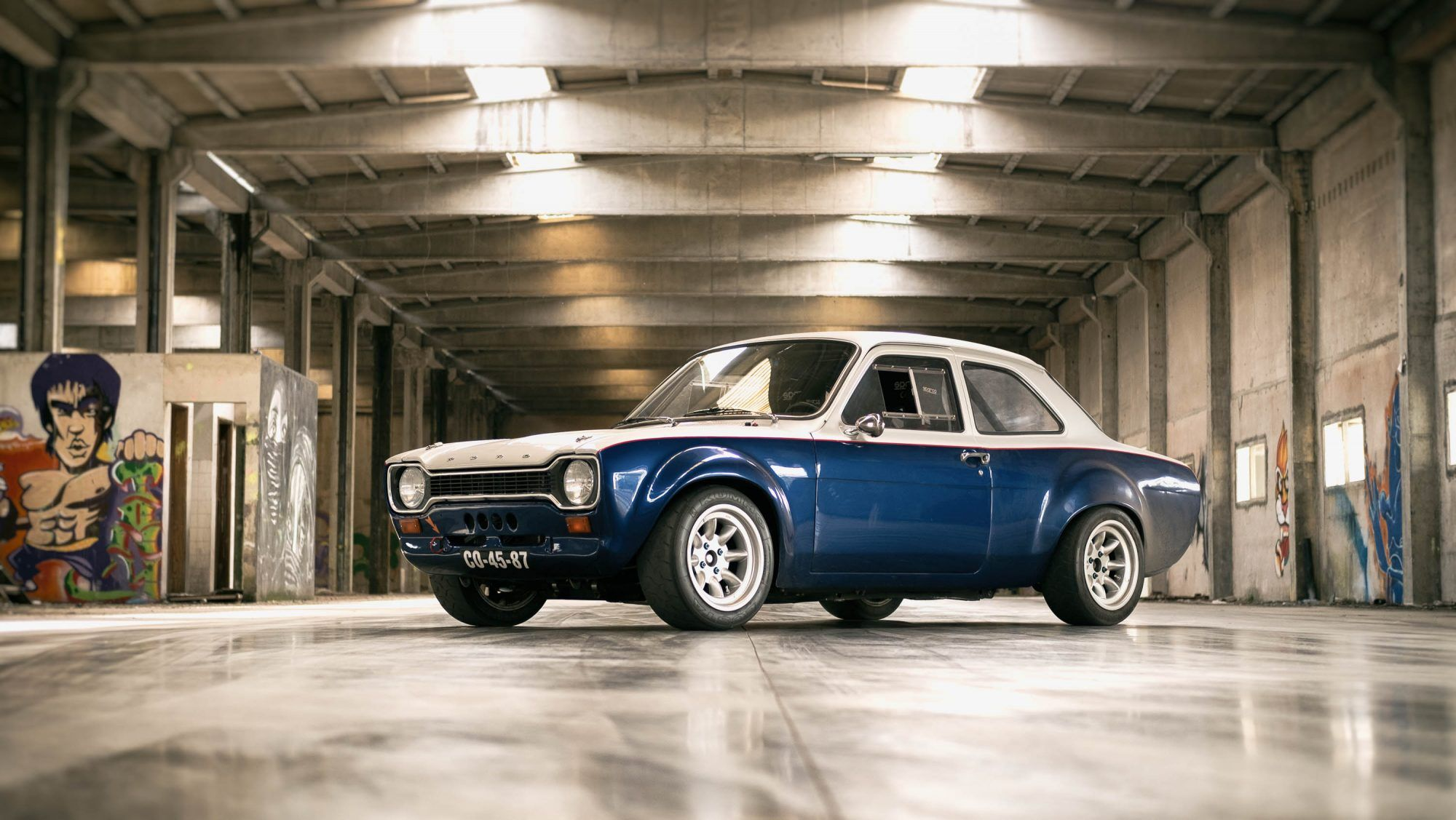 Here S A Classic Ford Rally Car That S Been Made Faster Than Ever