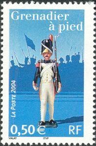 Sello: Grenadier (Francia) (Napoleon 1st) Yt:FR 3684,Mi:FR 3828,Sn:FR 3038