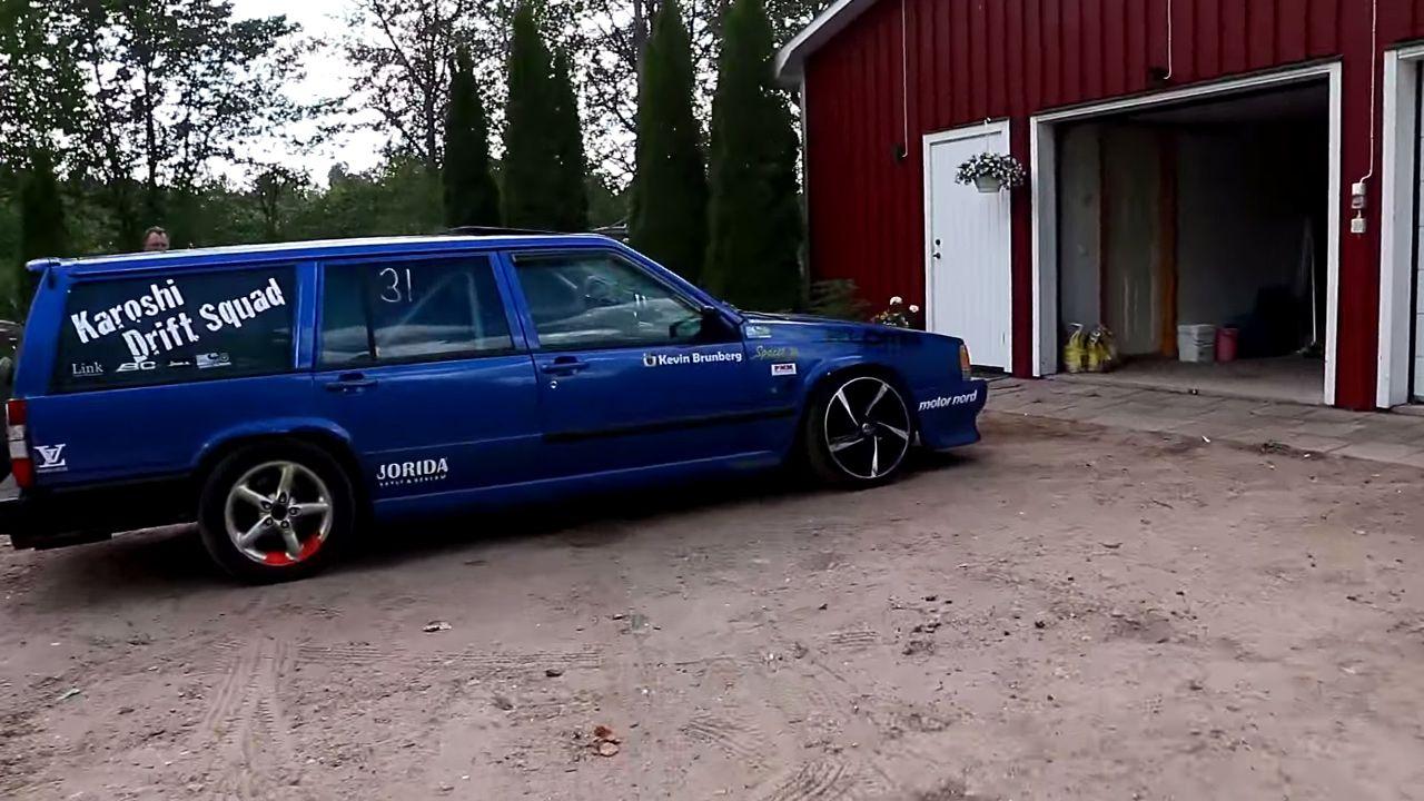 Volvo 740 wagon with a turbo B230 inline-four | my car