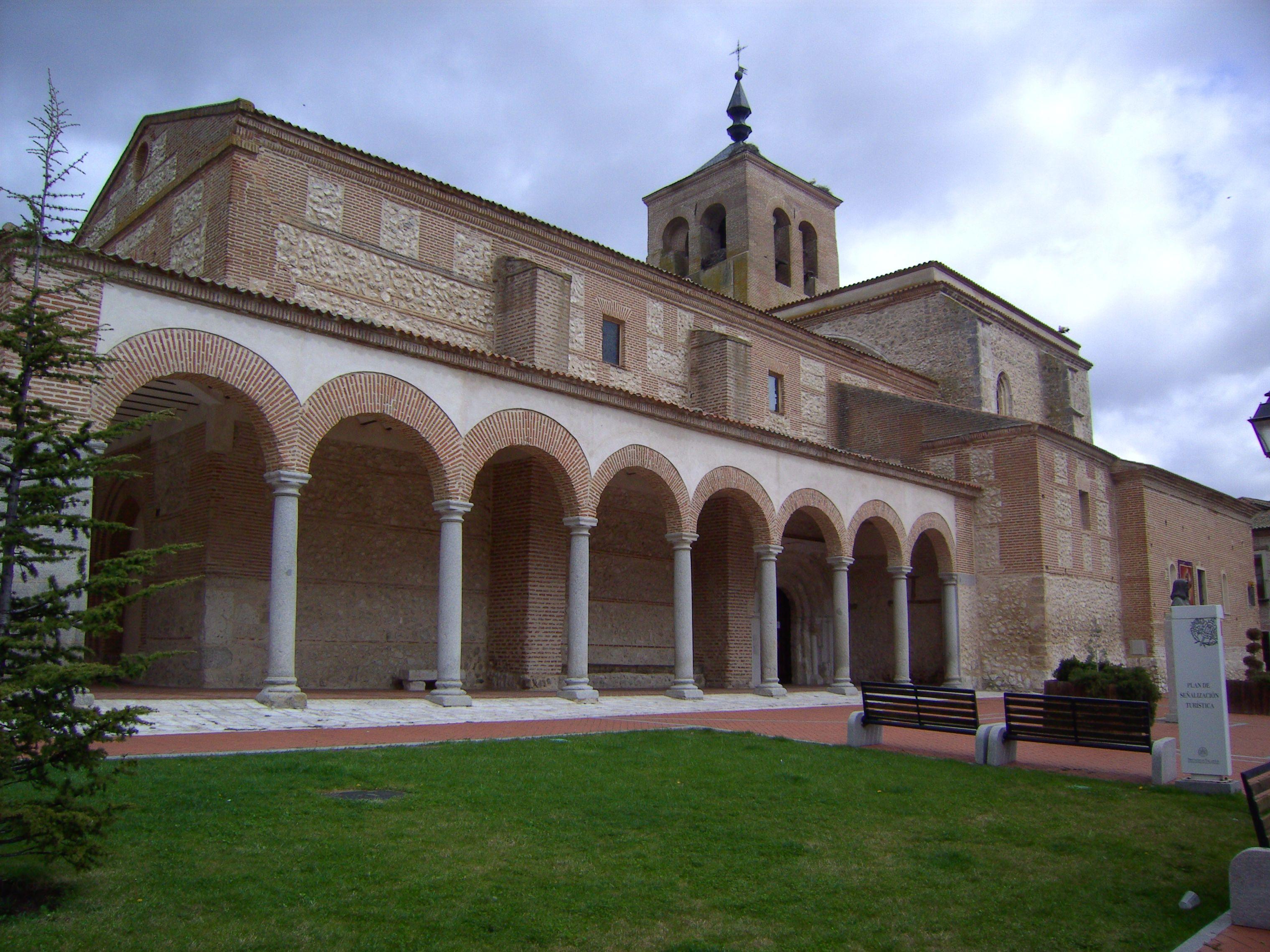 Olmedo, Valladolid. Iglesia de Santa María del Castillo
