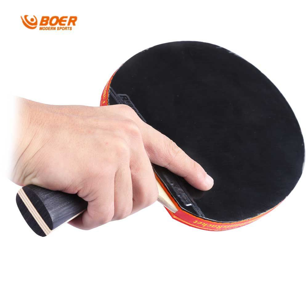 Table Tennis Rackets High Quality Pimples In Rubber Bat Heavy Tip Light Handle For Fast Attack Type Player Tabl Table Tennis Racket Table Tennis Racquet Sports