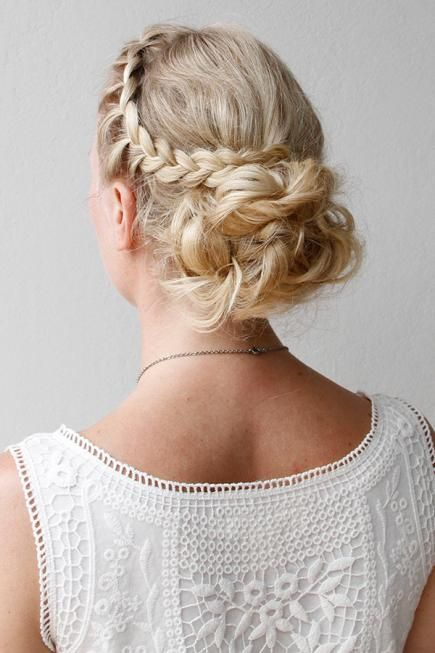 Our best braided hairstyles for long hair cabello this updo is perfect for a special occasion when you dont want to spend solutioingenieria Choice Image