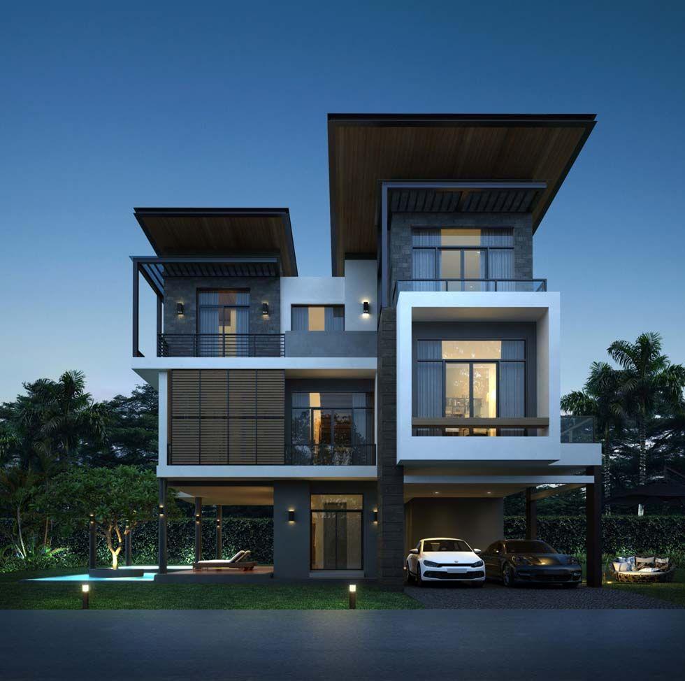 Pin von thaimedia pr auf Media PR | Pinterest | Moderne häuser und ...