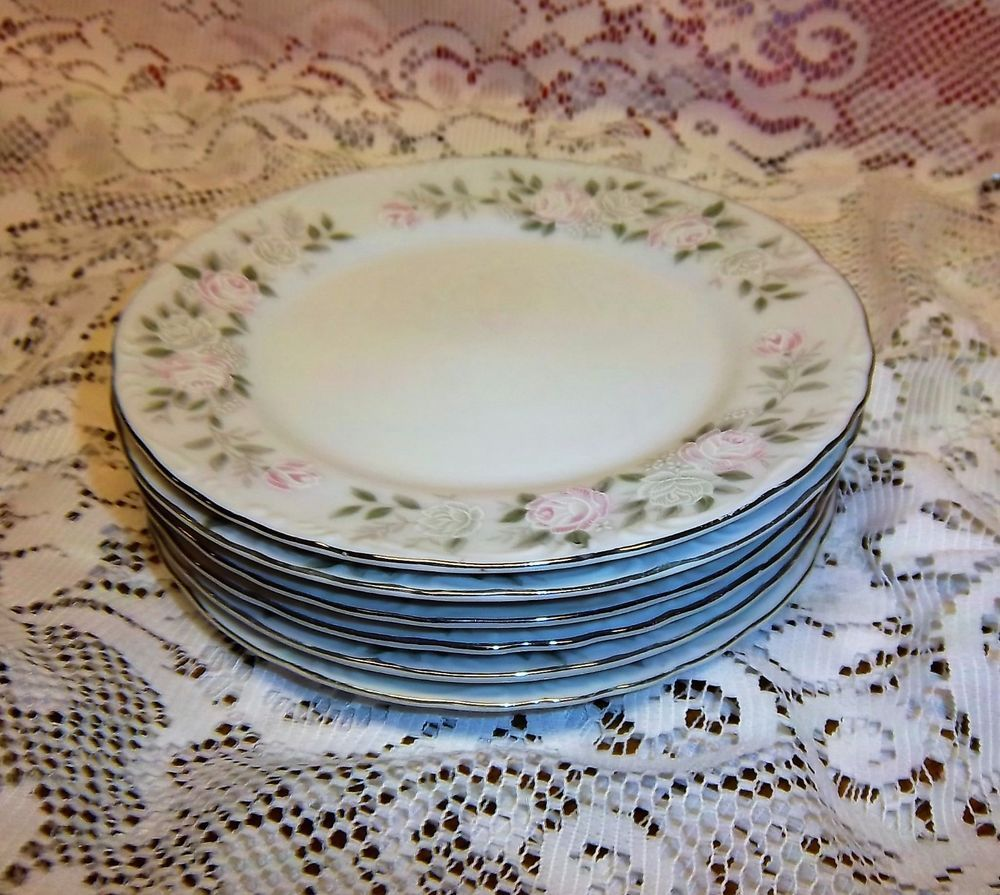 Set Of 6 Sheffield Fine China Classic 501 Bread And Butter Plates 6 1 4 Sheffield Fine China Plates China