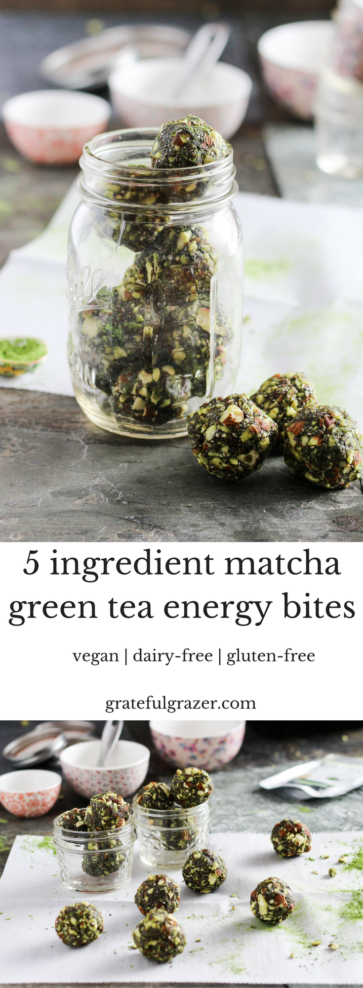 Matcha Energy Balls Recipe | How Make 5 Ingredient Green Tea Bites
