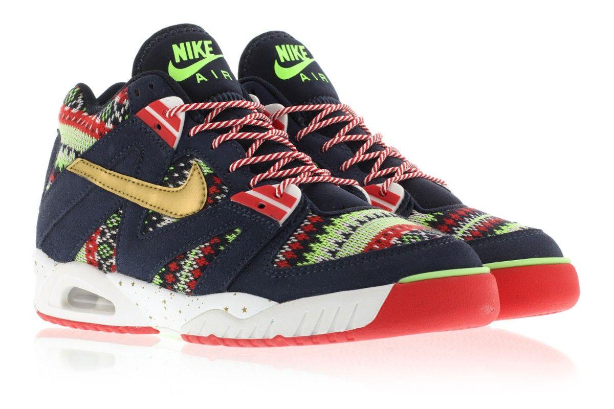 Nike Air Tech Challenge III Quickstrike Christmas Pack 827822-400 ...